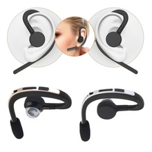 Fashion Universal Mini Bluetooth Earphone Wireless Stereo Audio Headset  Headphone Earpiece For All Mobile Phones Tablet PC New
