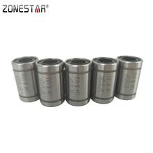 ZONESTAR 5PCS/lot High Quality Linear Bearing For 3D printer DIY kit LM8UU i3 Mendel Rostock Mini DIY CNC Motion