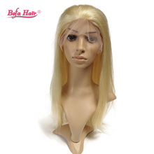 Silky Straight European Virgin Hair 613 Blonde Wig Full Lace Human Hair Wigs For White Women With Baby Hair Free Shipping