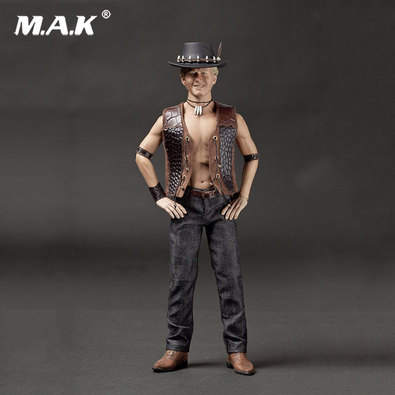 1/6 Scale Bushman Crocodile Dundee 004 Action Figure for Collections pocket bushman cold steel