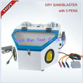 DIY tools Sandblasting machine For Jewelry and dental polishing with Three Pen jewellery tools goldsmith tool Fast Delivery Time