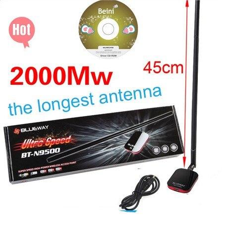 Analytisch 2000 Mw Blueway Drahtlose Netzwerk Karte High Power Usb Wifi Adapter Mit Antenne Ralink 3070 Chipsatz Direktverkaufspreis Netzwerk Karten Computer & Büro