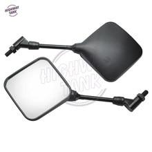 Nuovo Trasporto Libero GRATUITA Dual Sport Moto Specchietto retrovisore Specchi custodia per Suzuki DR 200 250 DRZ DR350 350 400 650 DR650