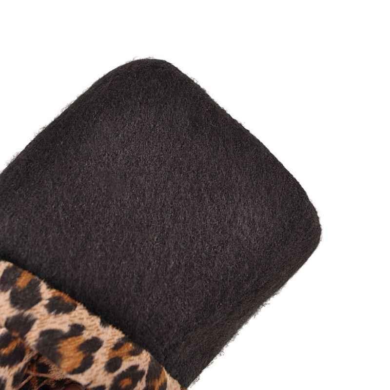 Morazora Plus Size 33-43 Nieuwe Vrouwen Laarzen Dikke Hoge Hakken Stretch Over De Knie Laarzen Mode Dames Dij hoge Laarzen Vrouwelijke