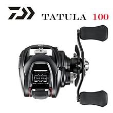 Nuevo 2019 DAIWA TATULA 100 H 100HL 100HS 100HSL 100XS 100XSL MAX DRAG 5 KG bajo perfil de pesca carrete de fundición rollo de 7BB   1RB