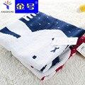 100% algodão towel bonito crianças pequenas coelho miffy towel lenço dos desenhos animados do bebê towel rosto towel portátil para viajar