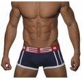 Men Underwear Boxer Shorts Trunks Cotton calzoncillos Gay Underwear Brand panties Penis Pouch WJ U Convex Man Underpants E11