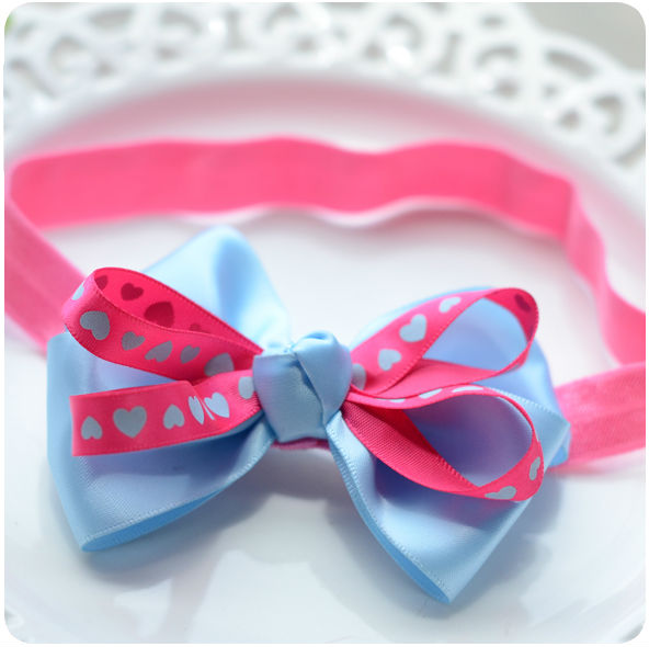 baby newborn infant headband rose hair band Chiffon flower lace elastic  children girls hair accessories for 2-36 months kk1606 10pcs lot 2016 new baby girls elastic headband flower head band newborn infant flowers hair band kids baby hair accessories