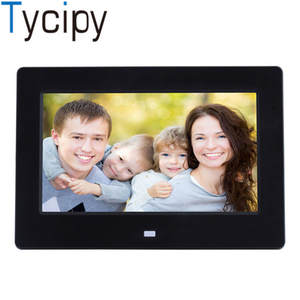 Tycipy HKD7G 7-inch Digital Photo Frame LED Screen slim wall support 1080 P HD