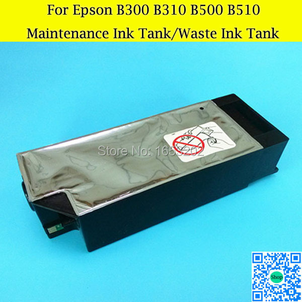 HOT Waste/Maintenance Ink Tank For Epson Stylus PRO B300dn B500dn B310dn B510dn B308dn B508dn B318dn B518dn Printer best price stable maintenance ink tank for epson surecolor t3070 t5070 t7070 printer waste ink tank