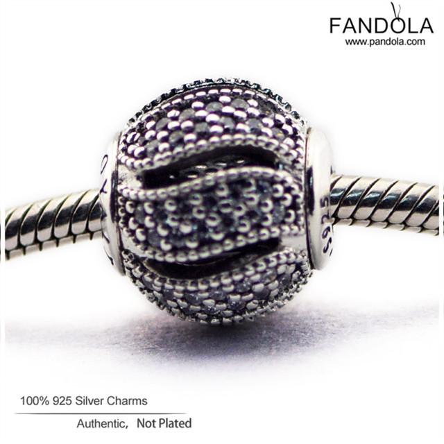 Serve para pandora pulseira 925 prata esterlina encantos jóias lealdade essência essência diy pequeno buraco perla o encanto para fazer jóias