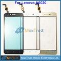 """Qualidade Top 5.0 """"para lenovo vibe k5 plus a6020 sensor digitador da tela de toque do painel de vidro frontal preto e branco da cor do ouro"""