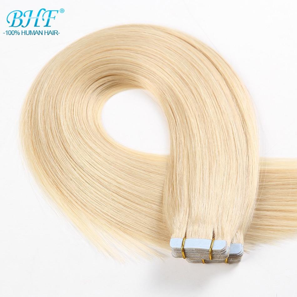 BHF-lint inimese juuste pikendustes Topelt tõmmatud lint - Inimeste juuksed (valge) - Foto 4