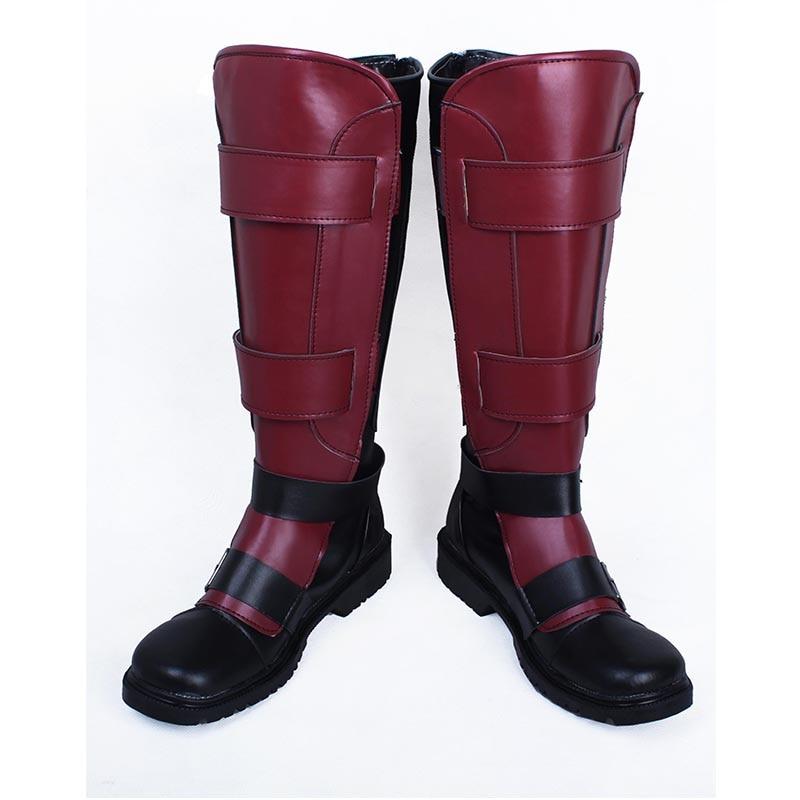 X-men Deadpool Wade Wilson Cosplay Shoes Boots Custom Made