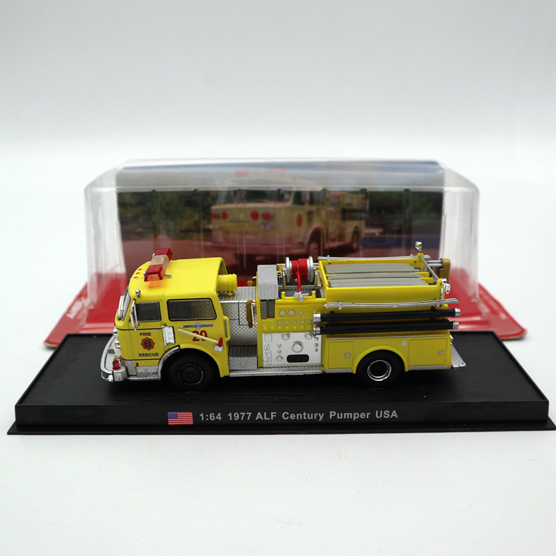 Amercom 1:64 1977 ALF Century Pumper USA Fire Engine Diecast Models Toys Car Limited Edition CollectionAmercom 1:64 1977 ALF Century Pumper USA Fire Engine Diecast Models Toys Car Limited Edition Collection