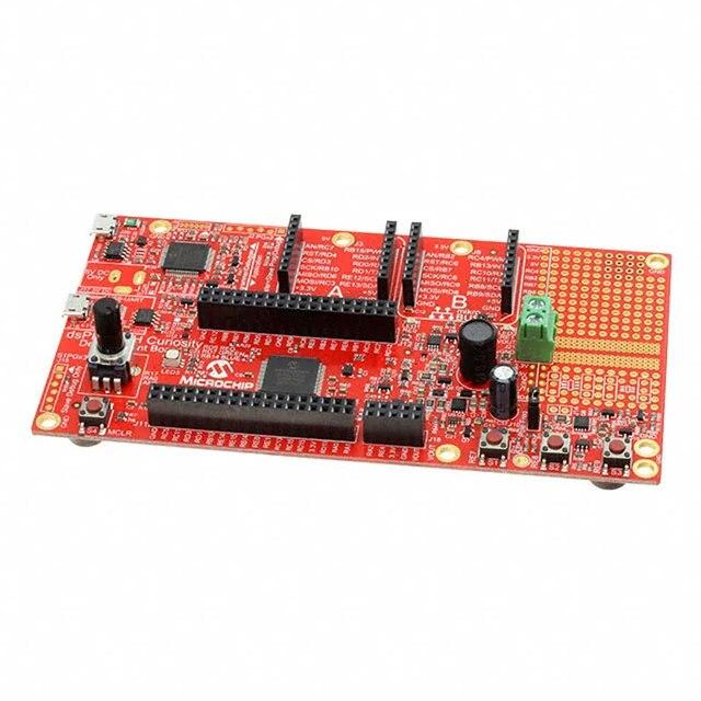DM330028 DM330028 2, PIC / DSPIC dsPIC33CH, placa de desarrollo de curiosidad, evaluación de DSPIC33CH128MP508