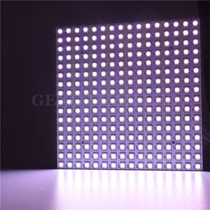 Image 2 - 16*16 Pixel 5050 RGB WS2812B panel SK6812 WS2812 Addressable Ragid LED Panel Screen Individually Addressable RGB Full Color DC5V