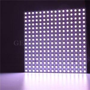 Image 2 - 16*16 Pixel 5050 Rgb WS2812B Panel SK6812 WS2812 Adresseerbare Ragid Led Panel Screen Individueel Adresseerbare Rgb Full Color DC5V