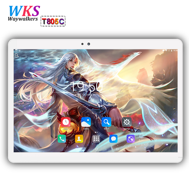 Free shipping 10 inch Tablet PC android 7.0 Octa Core ROM 64GB RAM 4GB Dual SIM Card Android 7.0 WIFI 1920*1200 IPS tablets pc free shipping 10 inch tablet pc 4g lte android 6 0 octa core 4gb ram 64gb rom dual sim card bluetooth tablets pcs 10 10 1 gifts