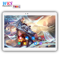 Free Shipping 10 Inch Tablet PC Android 7 0 Octa Core ROM 64GB RAM 4GB Dual