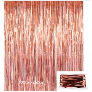 Image 3 - 2020 Rose Gold Series Balloon Disposable Tablecloth Straw Paper Towel Cup Wedding Birthday Party Decoration