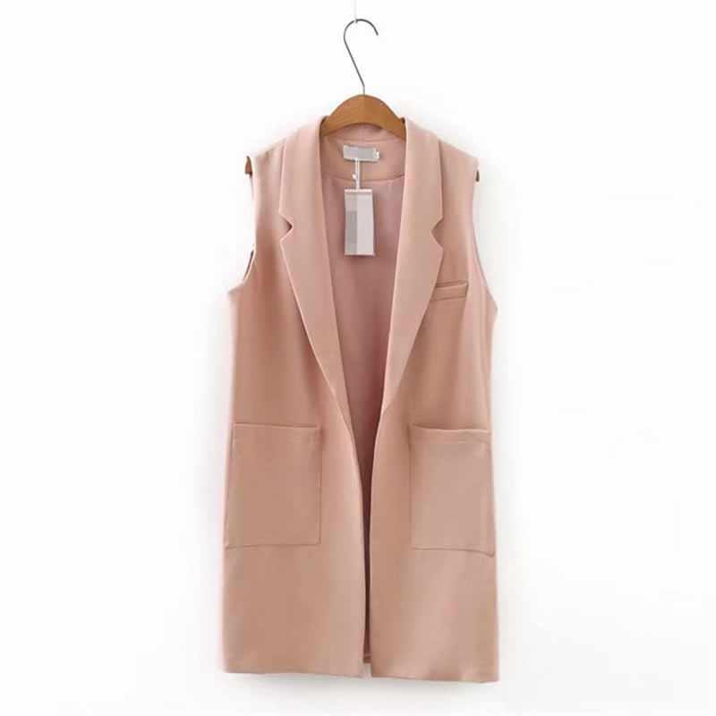 Plus größe XXL-5XL Ärmellose jacke weste frauen 2019 frühling fashion Solid farbe colete Große tasche strickjacke Casual tops weibliche G56