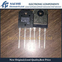 Free Shipping 10Pcs 2SK2837 K2837 TTK2837 TO-3P 20A 500V Power MOSFET