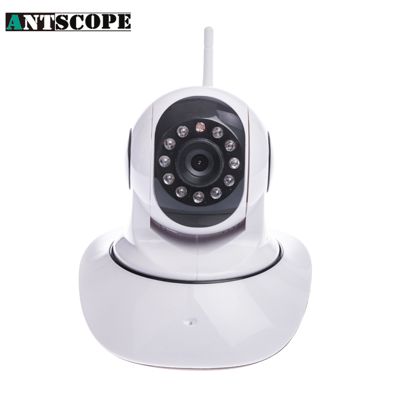 Antscope 720P HD Home Security  Wireless IP Camera Wifi Night Vision Camera IP Network Camera CCTV WIFI P2P Onvif IP Camera yalxg new wireless wifi hd 1080p ip camera home security network cctv night vision system support ios android onvif dvr