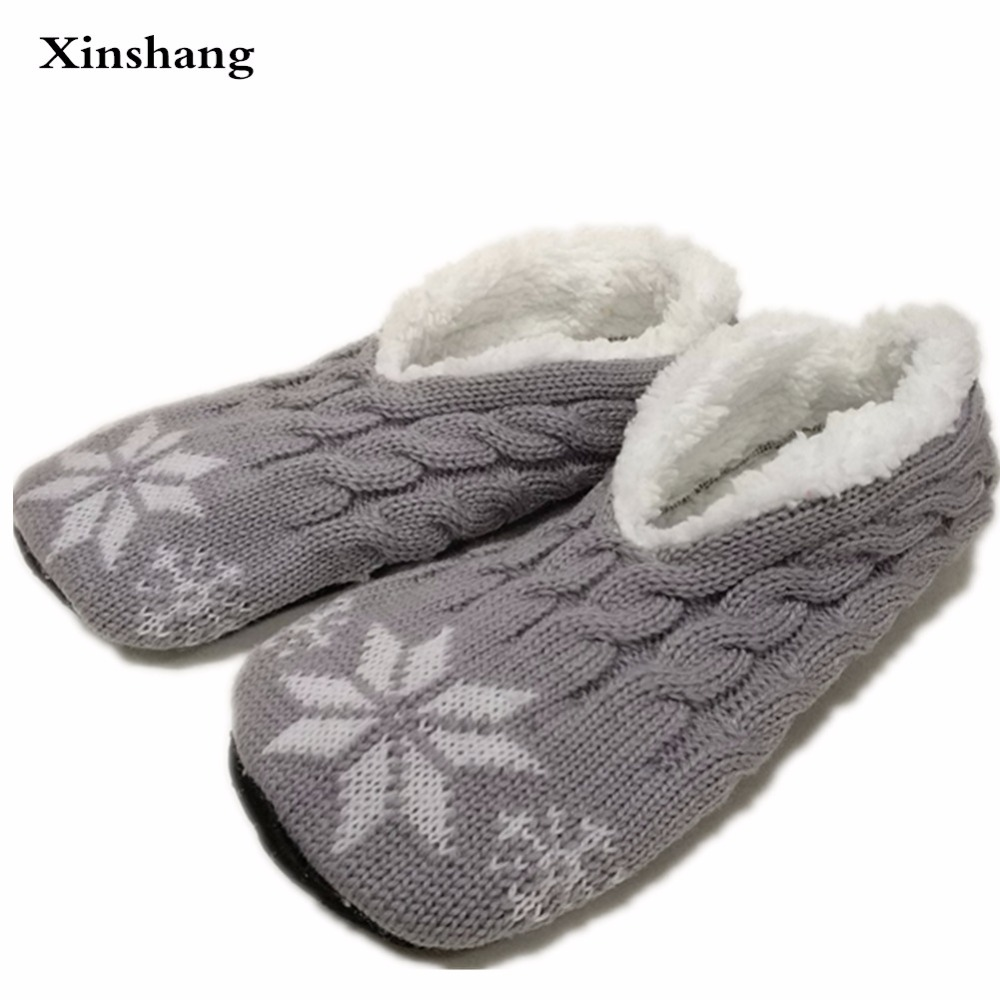 Winter men warm soft caddice shoes bottom flannel indoor for H m bedroom slippers