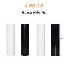 4 롤 30cm x 20m PVC 열전달 비닐 티셔츠 HTV 필름 인쇄 절단 플로터 열 프레스에 철