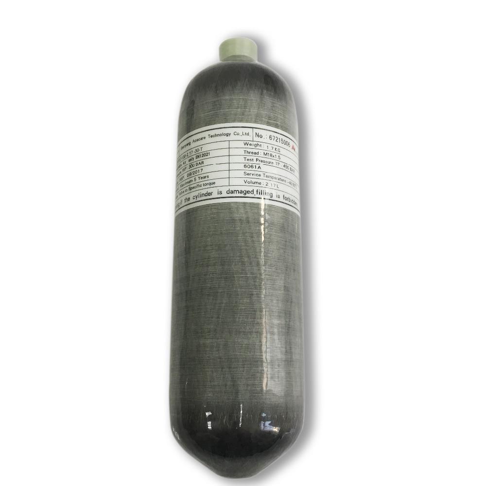 AC1217 HPA pcp fusil à air 2.17L paintball réservoir carbone fusil à air comprimé mini plongée sous marine 4500psi chasse plongée sous marine condor 2019-in Masques de protection respiratoire from Sécurité et Protection    1