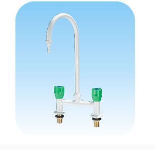 купить E5003 vertical single mouth hot and cold gooseneck faucet по цене 3891.87 рублей
