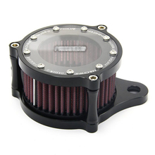 top quality Air Cleaner Intake Filter System For XL883/1200 X48 Motorcycle modified CNC aluminum transparent retro air filter