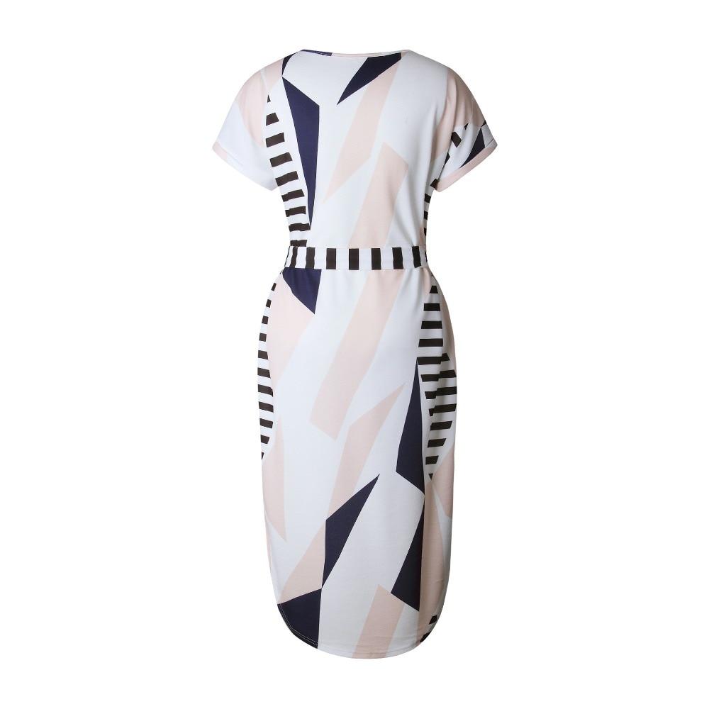 Sundress Vestido Plus Size Bandage Women's Dresses Robe Femme 3