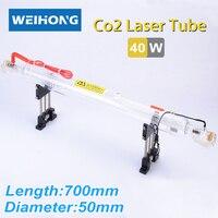 40W Co2 Laser Tube 700mm Length 50mm Diameter
