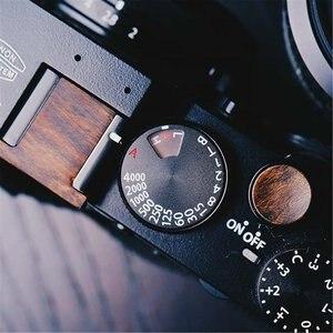 Image 5 - Di legno Morbido pulsante di scatto O Slitta a Contatto Caldo Della Copertura Per Fuji XT3 FujiFilm X T3