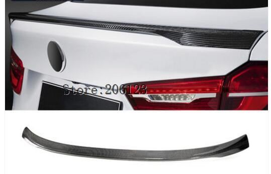 For BMW X6 X Series X6 F16 2015 2016 2017 2018 High Quality Carbon Fiber Material Rear Spoiler Tail Trunk Wing Boot