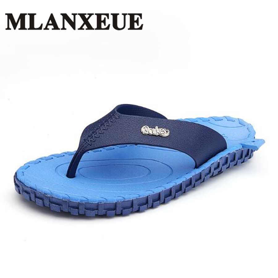 Slippers 2018 Men Flip Flops Summer Men Flip Flops Big Size Men's Sandals Fashion Breathable Beach Flip Flop Men Casual shoes 2016 summer new men s massage sole flip flops personality simple slippers breathable fashion beach shoes size 40 44 b1953