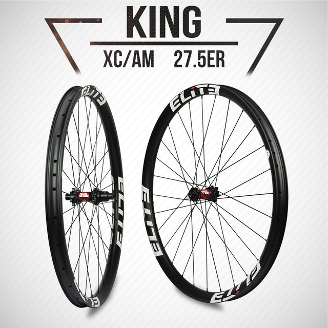 6dc0d80e82b ELITE DT Swiss 240 Series Mountain Bike Wheelset 27.5er XC AM MTB Wheels  28mm*25mm Carbon fiber 1310g Super Light Offset Rim
