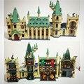 Lepin Movie Series 16030 1340PCS The Hogwarts Castle Sets Model Building Kits Block Bricks Compatible 4842 Toys For Children
