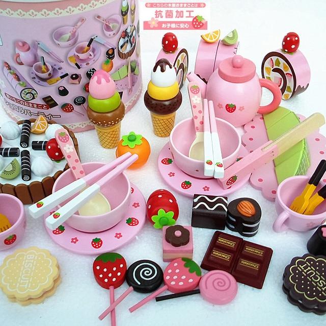 Baby Toys Play Haus Schokolade Kuchen Set Kinder Padagogisches Play