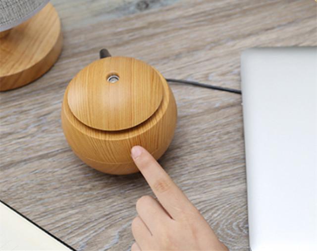 Wood Grain Usb Essential Oil Humidifier