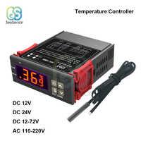 STC-1000 STC 1000 LED Digital Thermostat für Inkubator Temperatur Controller Temperaturregler Relais Heizung Kühlung 12V 24V 220V