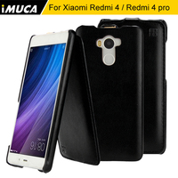 Xiaomi Redmi 4 Pro Case Cover Genuine Flip Leather Case Capa For Xiaomi Redmi 4 Redmi