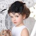 2016 baby braut kopfschmuck neugeborenen kleine hut haarnadel fotografie requisiten baby haar spange clips kinder zubehör