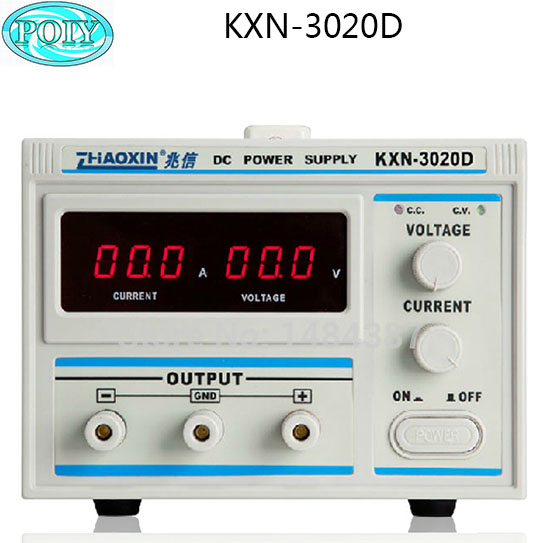 KXN 3020D DC power supply 30V20A adjustable power supply 30V 20A LED High Power Switching Variable DC Power Supply 220V-in Voltage Regulators/Stabilizers from Home Improvement    1