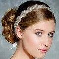 Mecresh New Design Europeu Grânulos de Cristal Strass Tiara De Noiva Acessórios Do Cabelo Do Casamento Jóias Cabelo TS002