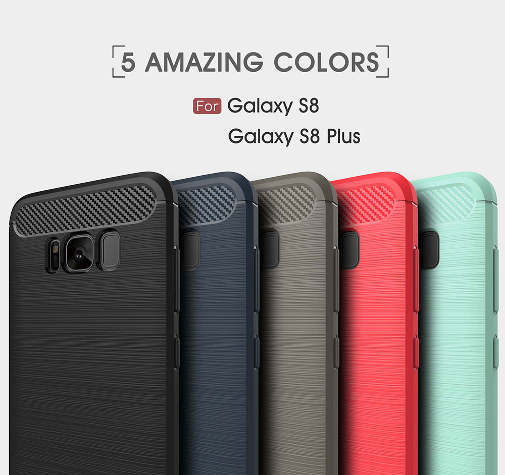 Cleiree Original case Für Samsung Galaxy S8 S8 plus fällen Flexible Mode Ultra thin PP hülle Military Tropfen Geprüft Telefon...