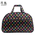2017 New Fashion Waterproof Oxford Women Colorful Travel Bag Large Hand Canvas Luggage Bags High Quality Free Shipping G094
