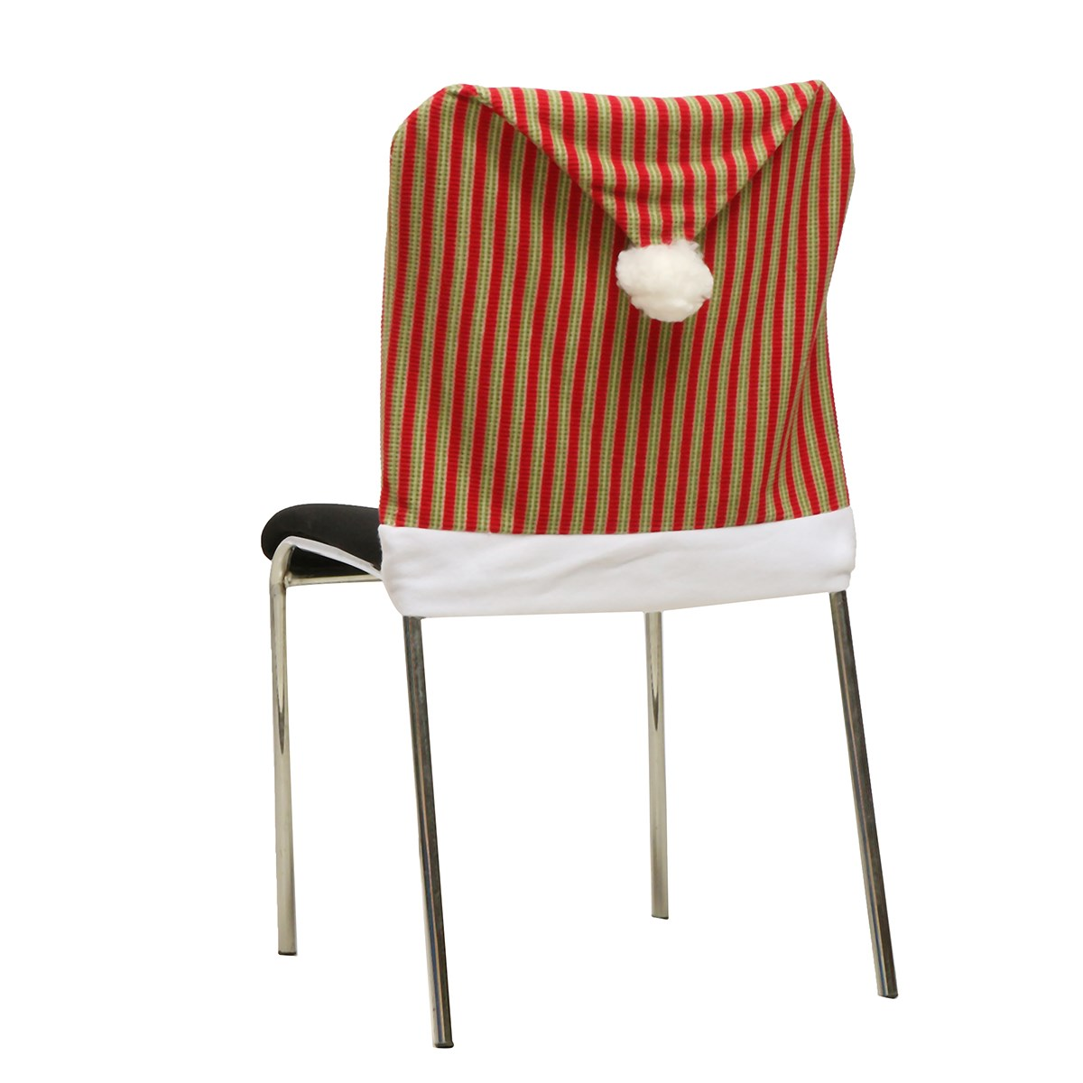 50X70cm Christmas Chair Covers Vertical Stripes Lovely Christmas ...
